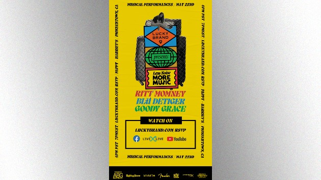 Ritt Momney to headline Lucky Brand's 'Less Noise, More Music' concert to help independent music venues