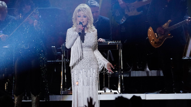 Dolly Parton shares one of her own anxiety struggles to de-stigmatize mental health issues