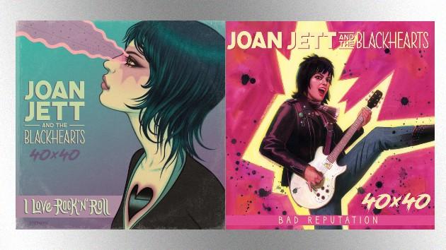 Joan Jett & the Blackhearts immortalized in 40th Anniversary graphic novel