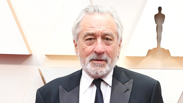 Raging pull: De Niro's rep says he's being treated for a quadriceps injury
