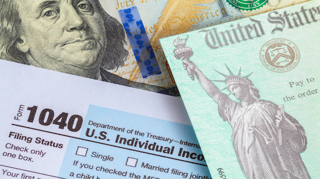 Federal income tax filings and payments for individuals due Monday