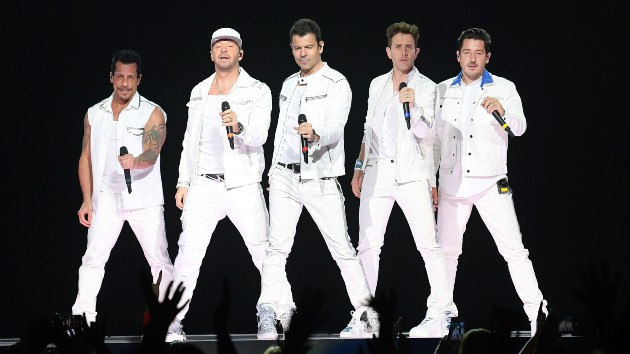 New Kids on the Block announces rescheduled Fenway Park show