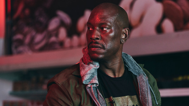 """Tyrese says his """"controversial"""" film 'Rogue Hostage' is """"like 'Die Hard' inside of a grocery store"""""""