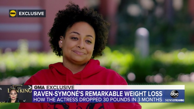 Raven-Symone talks losing 30 pounds in three months: 'It's really complete body health'