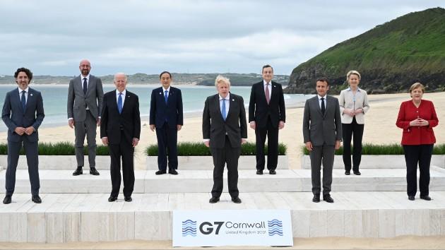 Biden attends G-7 summit amid post-Trump mood of global cooperation
