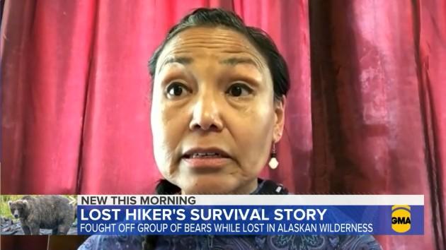 Hiker recounts surviving encounter with bears on Alaska mountain