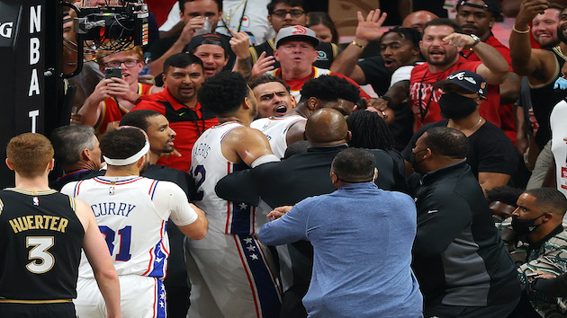 76ers Embiid fined for Game 6 altercation