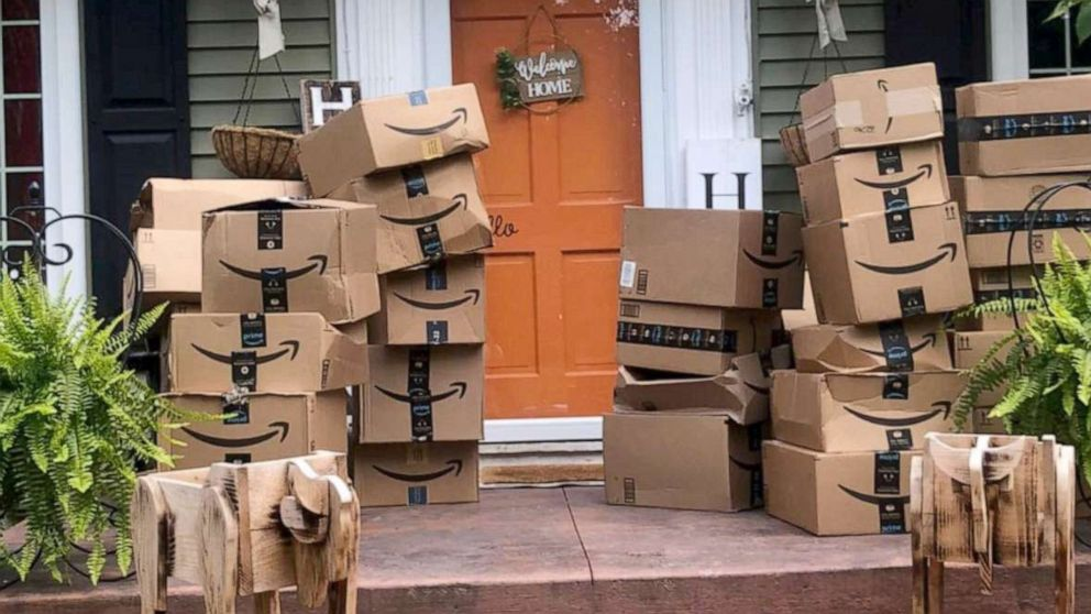 Woman donates mistakenly delivered Amazon packages to children's hospitals