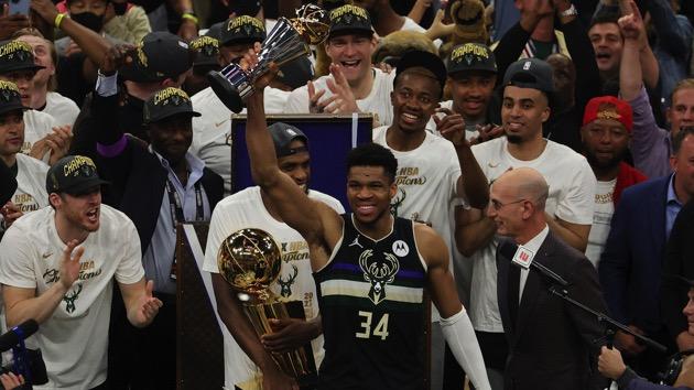 Milwaukee Bucks win first NBA title in 50 years