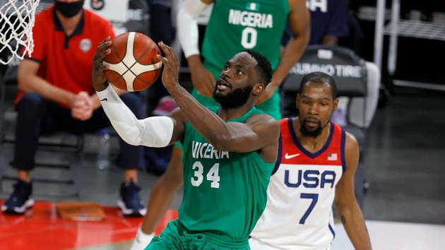 Nigeria's men's team aims for Africa's 1st Olympic basketball medal