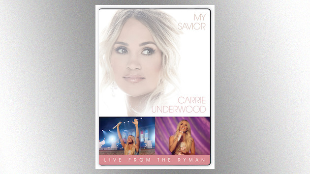 Carrie Underwood brings 'My Savior' to the stage on her new DVD release