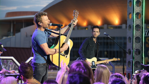 Dierks Bentley loves singing with his kids, but he's not pushing them into the music business