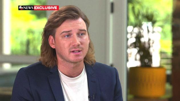 Morgan Wallen speaks to 'GMA' about being filmed using racial slur