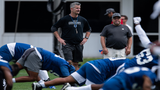 Indianapolis Colts head coach tests positive for COVID-19