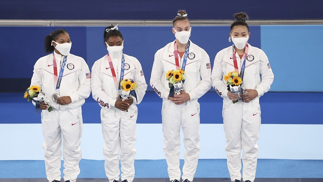 Gymnasts support US women, Biles after silver finish in Tokyo