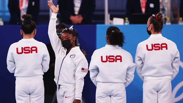 Simone Biles withdraws from gymnastics team competition early, US comes in 2nd