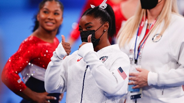 Simone Biles withdraws from individual all-around competition 'to focus on her mental health'