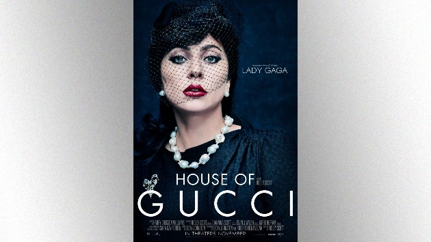 Lady Gaga debuts character poster for 'House of Gucci'