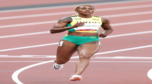 Jamaica sweeps women's 100m at Tokyo Olympics as Elaine Thompson-Herah sets record