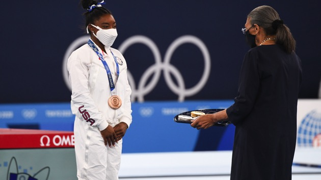 Simone Biles finishes with bronze: Key moments from Day 11 of the Olympic Games