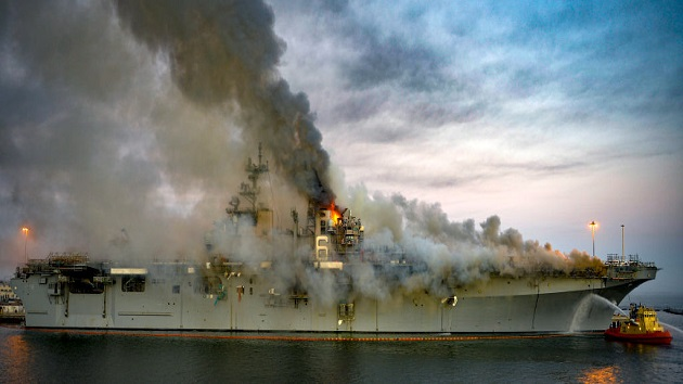 New details about sailor charged with setting blaze on USS Bonhomme Richard