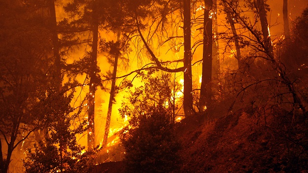 Gusty winds expected to spread massive wildfires in West