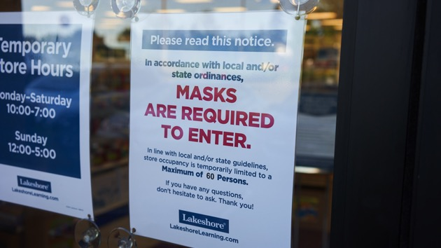 Which states have reimposed mask mandates and which are resisting