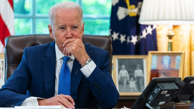 Biden stands by Newsom, warns the country's future is on the ballot in California's recall election