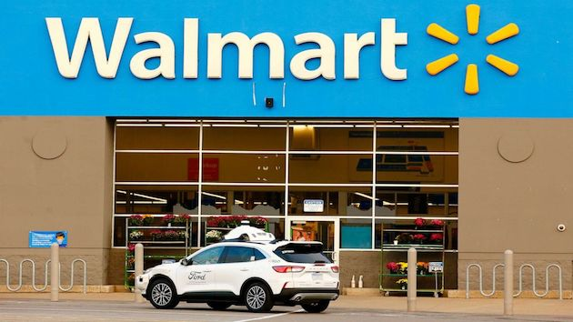 Walmart partnering with Ford, Argo AI to test self-driving delivery vehicles