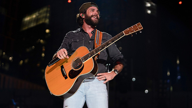 Take me out to the ball game: Thomas Rhett throws first pitch at Chicago Cubs game