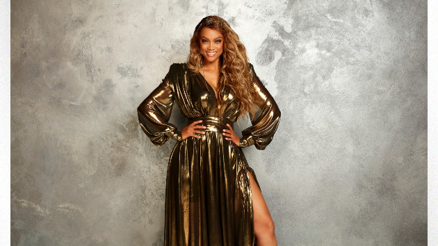 Tyra Banks reveals how her viral 'Dancing with the Stars' gown honors her supermodel roots