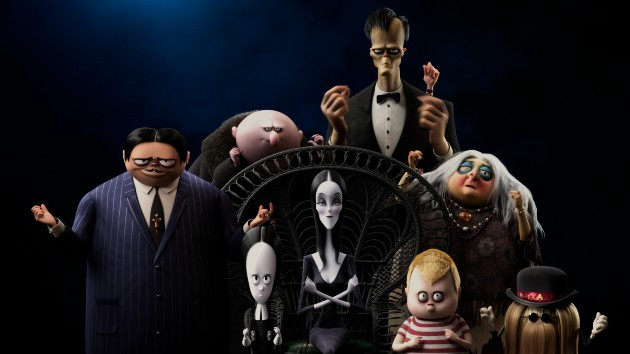 The new 'Addams Family' movie hits the road for some spooky fun