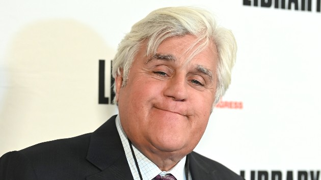 """Jay Leno urges his fellow comedians to adapt their comedy """"to the times you live in"""""""