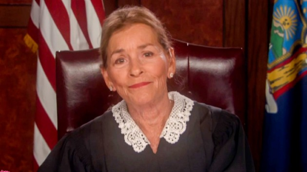 Get a new look at Judge Judy's new show