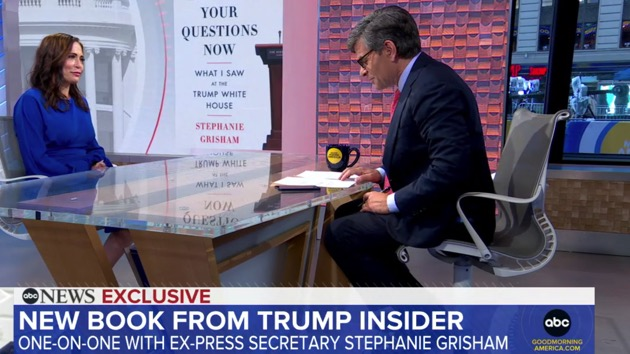 Exclusive: Stephanie Grisham says 'I regret' enabling culture of dishonesty in Trump White House