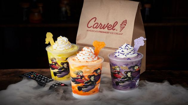 Carvel brews up 3 new 'Hocus Pocus' shakes for 31 Nights of Halloween