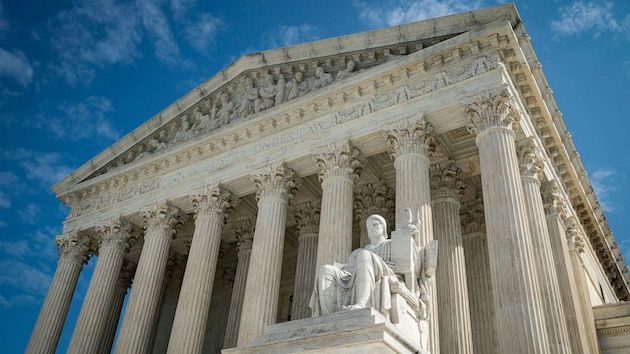 Inside the Supreme Court during COVID: Reporter's notebook