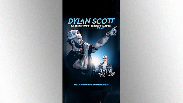 """Dylan Scott will be """"Livin' My Best Life"""" on 2022 tour"""