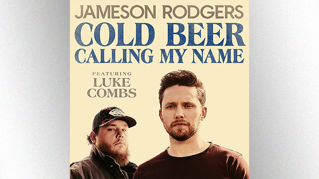 """""""Cold Beer Calling My Name"""": Jameson Rodgers and Luke Combs toast to #1"""