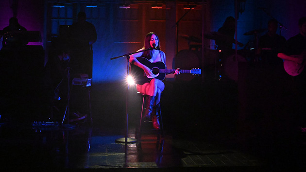 Kacey Musgraves gets vulnerable, and naked, in 'Saturday Night Live' performance