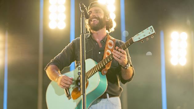 """I was born to do this"": Thomas Rhett reflects on return to touring"
