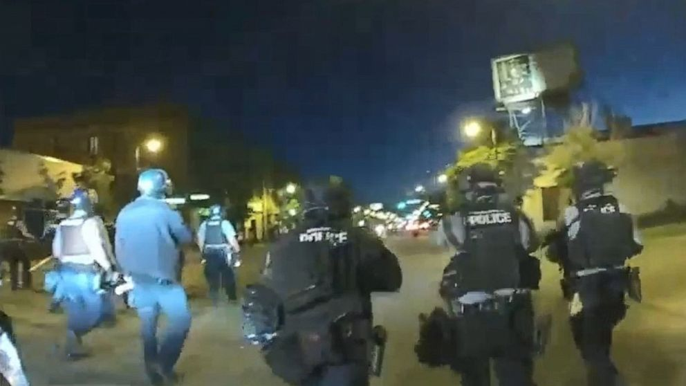 Body cam footage shows Minneapolis police allegedly 'hunting' anti-police brutality protesters