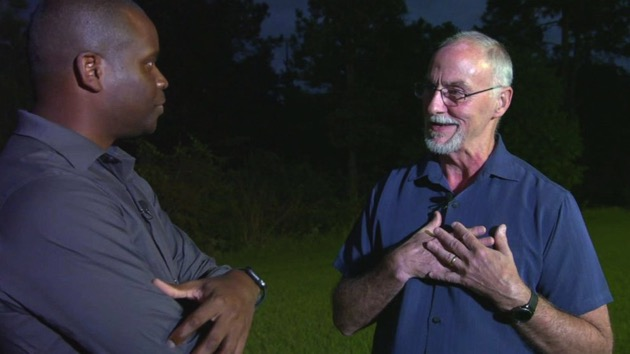 Man says 'divine' intervention led him to lost boy in the woods