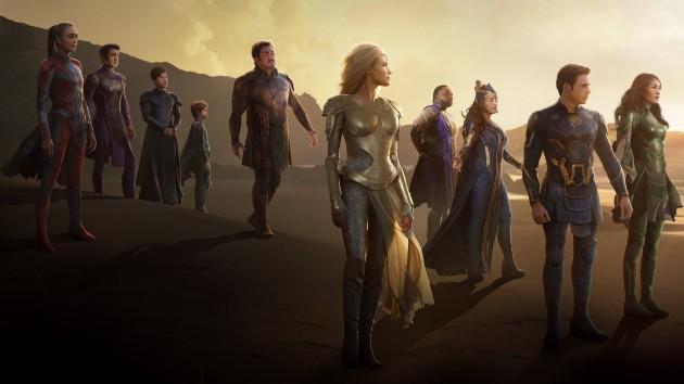 Hope springs 'Eternals': Film's pre-sales out-pacing both Marvel Studios predecessors 'Black Widow' and 'Shang-Chi'