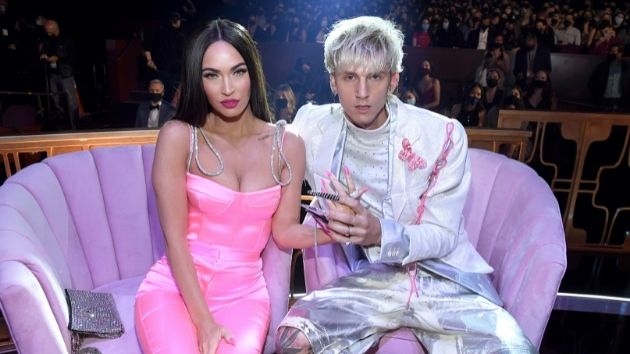 Megan Fox and Machine Gun Kelly unleash a little chaos when taking a couple's quiz together