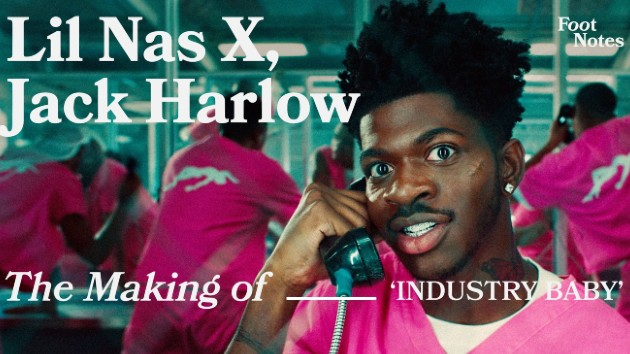 """Lil Nas X reveals secrets of """"Industry Baby"""" video with 'VEVO Footnotes'"""