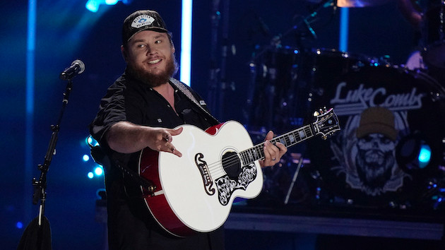 Luke Combs once partied a little too hard with his country music hero, Eric Church