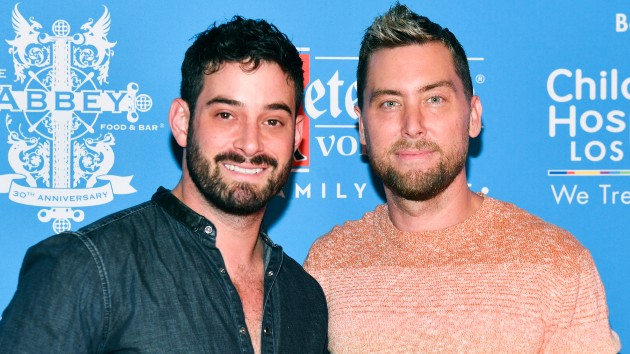 Lance Bass announces he and husband Michael Turchin have welcomed their twins