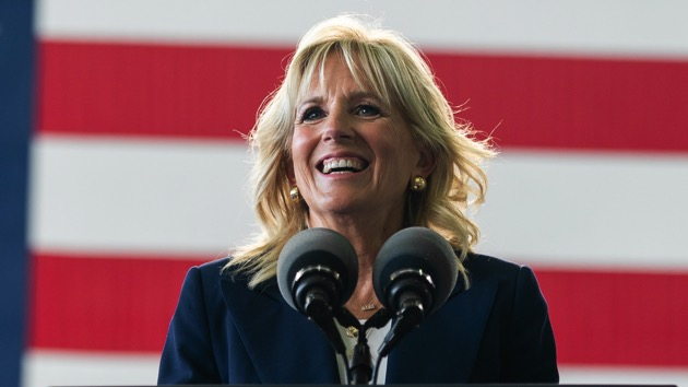 First lady Jill Biden will stump in New Jersey, Virginia to help elect Democratic governors