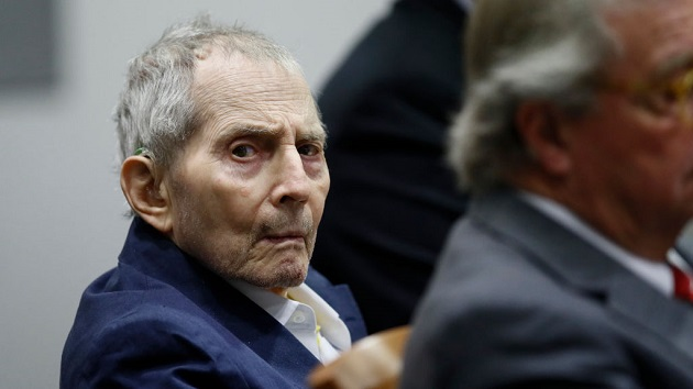 Convicted murderer Robert Durst diagnosed with COVID-19, attorney says
